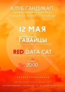 афиша Red Data Cat и Гавайцы в клубе Гандикап